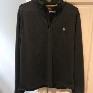 Polo grey 3/4 zip top